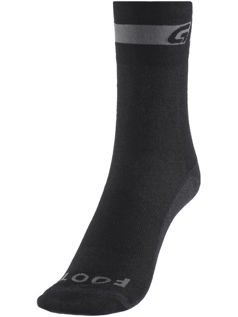 GripGrab Merino Regular Cut Socks Black